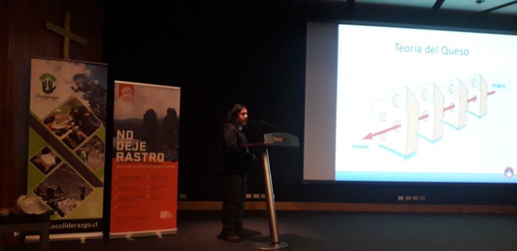 CSME participa en 3er Encuentro Maestros No Deje Rastro, DUOC UC, Concepción 2019.